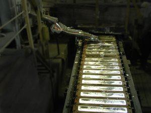 литье слитков из алюминия
