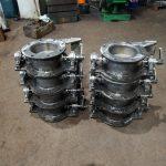 Клапан дроссельный ДП-200 из стали