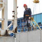 строитель на Тайшетском алюминиевом заводе
