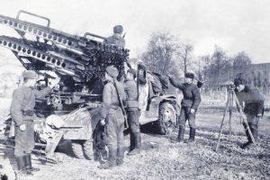 Батарея капитана Флерова имела две установки БМ-13, изготовленные на заводе имени Коминтерна